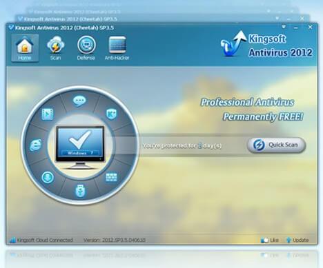 Особенности установки и работы с Kingsoft Antivirus