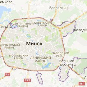 CityInfo - карта города Минска