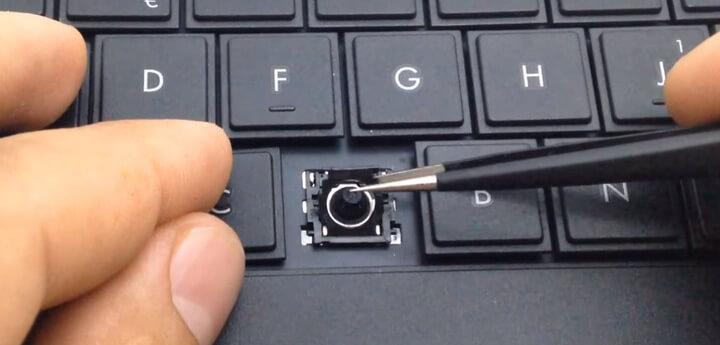 Ремонт и замена клавиатуры ноутбука в Минске