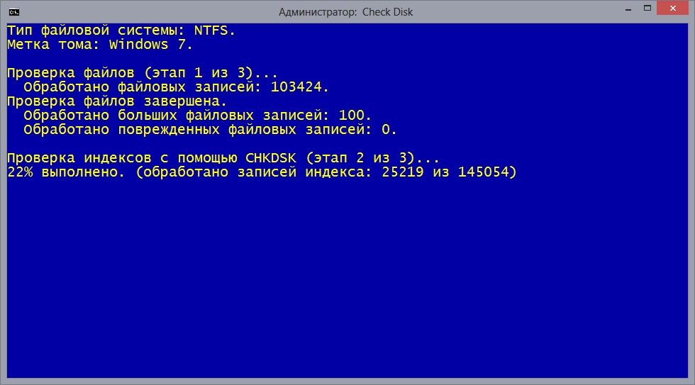 how to stop chkdsk in progress windows 10