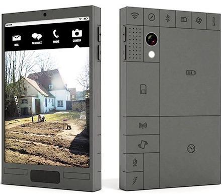 Модульный смартфон-внешний вид прототипа