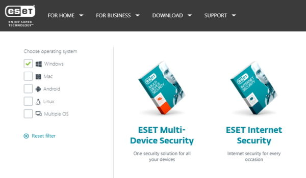 Eset official