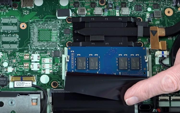 Ремонт ноутбука Lenovo. Вид Оперативная память