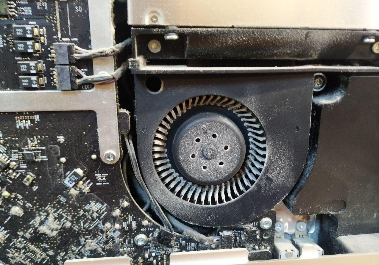 Чистка iMac,  iMac Pro от пыли в Минске