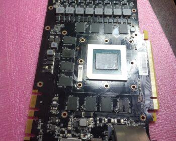 Видеокарта Palit GTX 1080 TI - в ремонте
